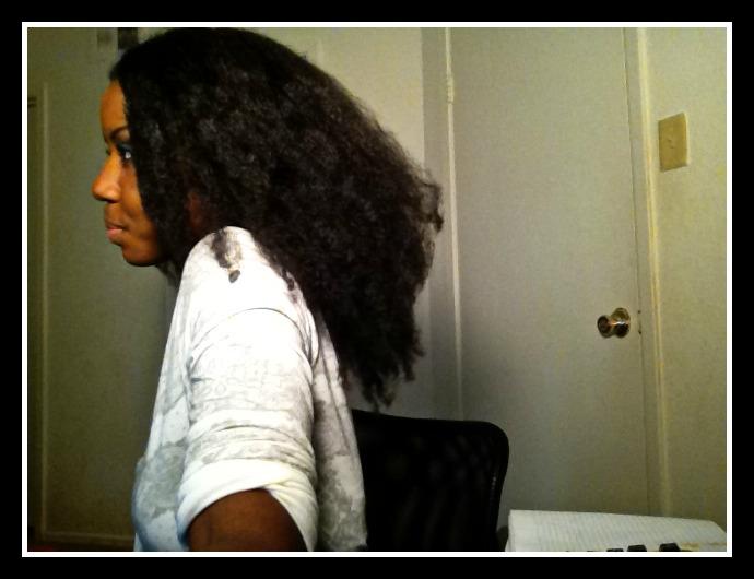 My hair in December of last year!! Craaazy
