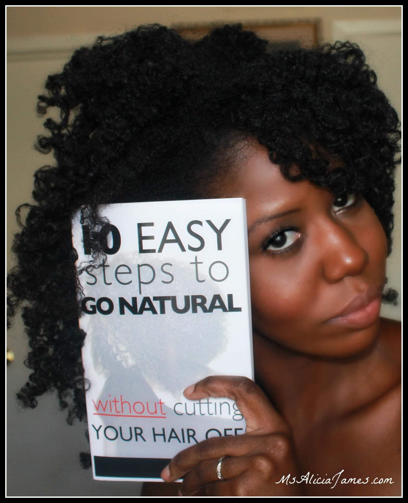 11 Easy Steps To Go Natural WITHOUT Cutting Your Hair Off! – Nik