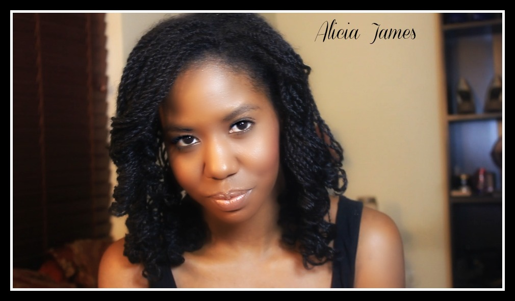 Two Strand Twist Natural Hair Hairstyles