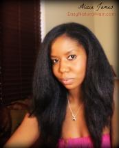 Natural Hair Flat Iron - Alicia James