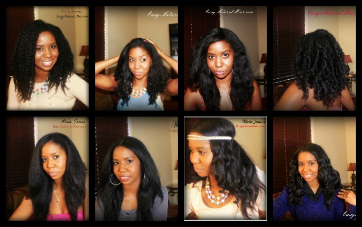Four Years Natural Hair - Alicia James