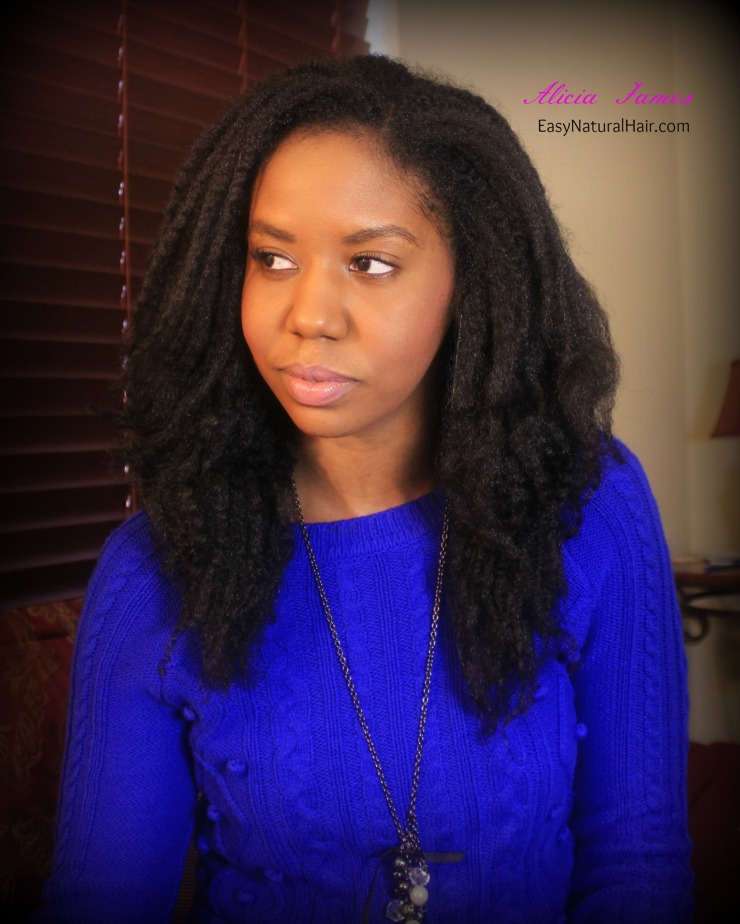 """""""Natural Hairstyles"""" """"Natural Hair"""" - Super stretched twist out"""