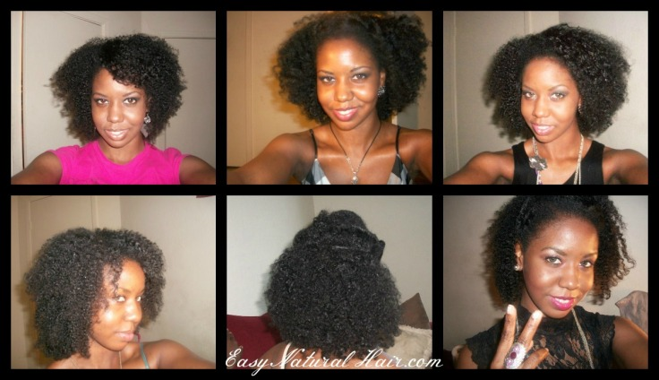 One Year and a Half - Two Years Natural Hair - Alicia James
