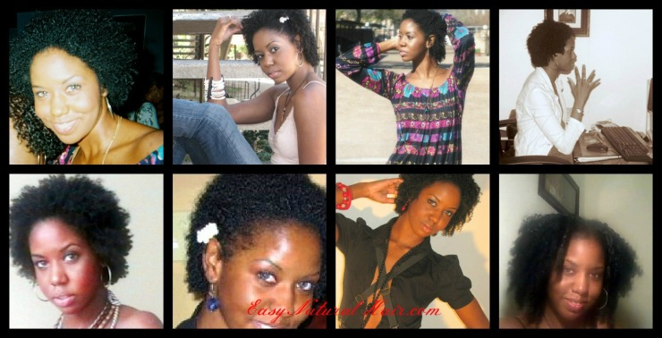 One Year Natural Hair - alicia james