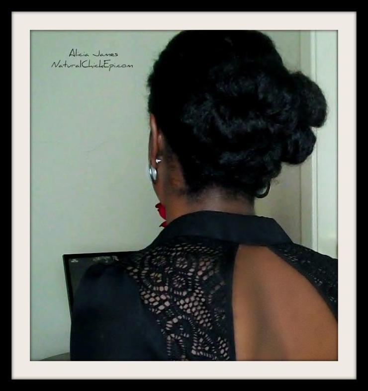 New Years Eve Hairstyle On Natural Hair -