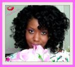 Wedding, Prom, Special Occasion Hairstyle on Natural Hair - Beautiful Curls
