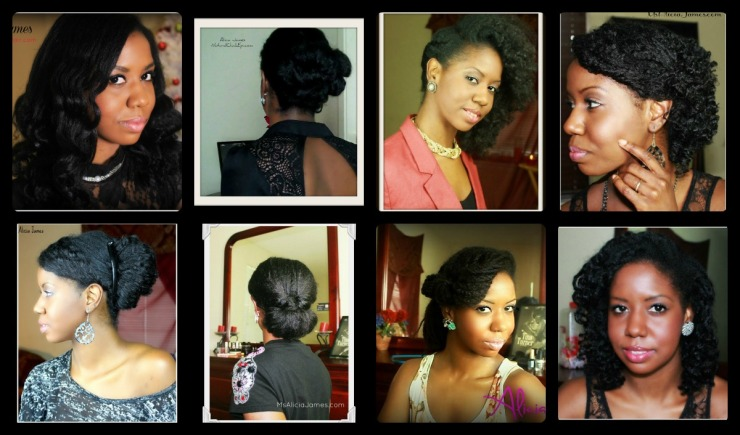 8 New Years Eve Hairstyles On Natural Hair
