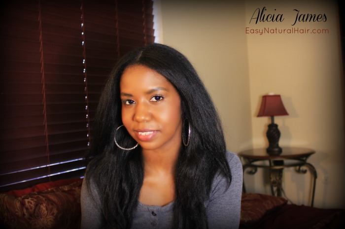 Hair Of The Day - Straightened Natural Hair