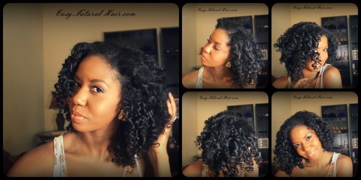 Bantu Knot Out On Natural Hair - Multiple Views