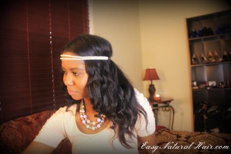 No Heat Loose Curls Side View