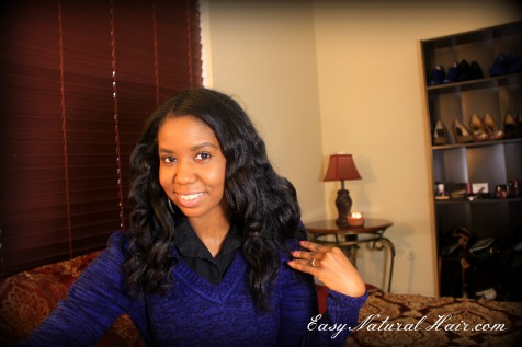 No Heat Loose Curls Front View