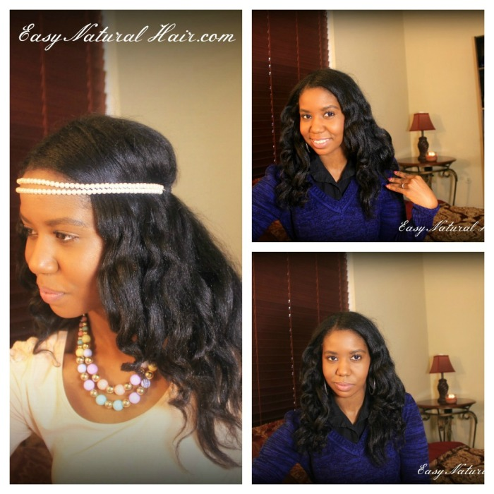 No Heat Loose Curls different views