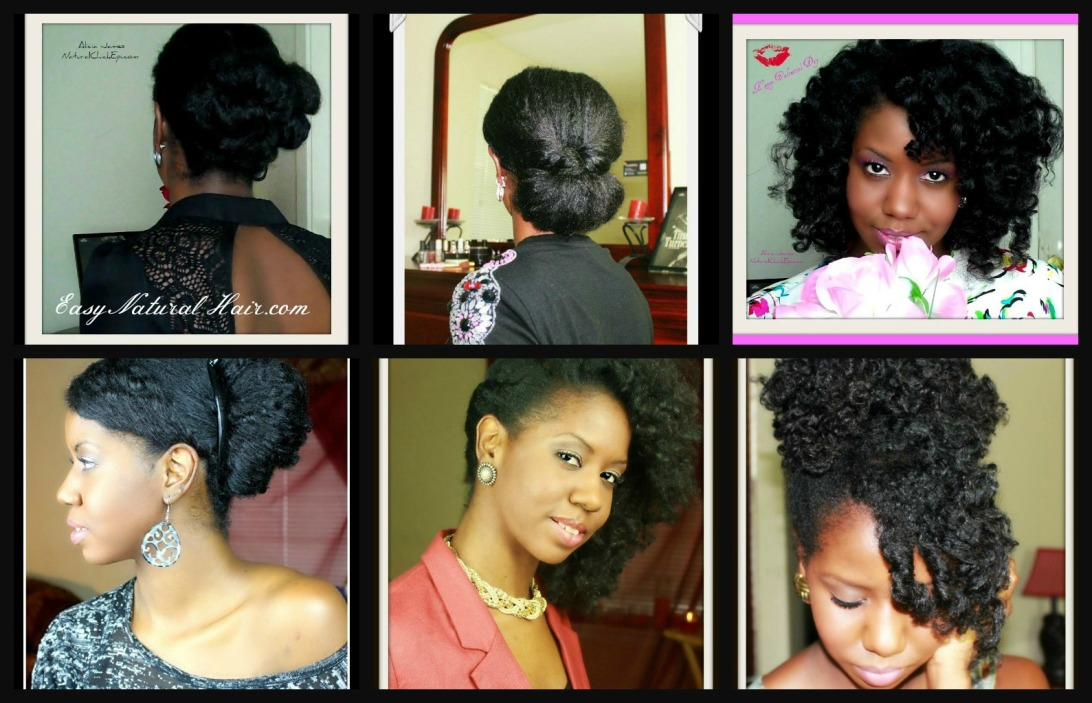 , Special Occasion Hairstyle On Natural Hair – Multiple Hairstyles ...