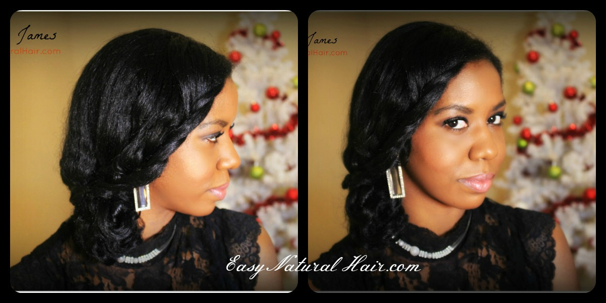 10, 2012 at 1200 × 600 in Holiday Natural Hairstyle – 2 in 1