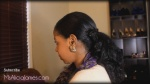 Simple Ponytail Wth Banana Clip On My Natural Hair