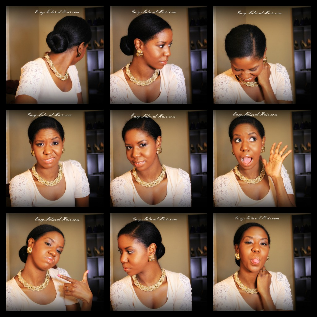 Low Sock Bun On My Natural Hair Hairstyle For Every Occassion How To Take Care Of Natural Hair