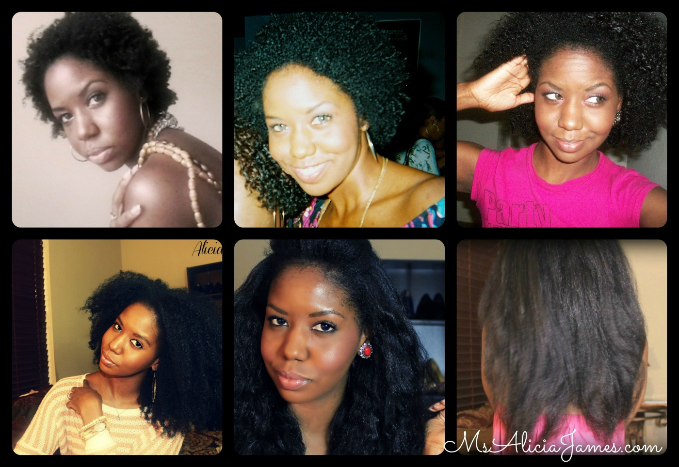 Five Year Natural Hair Journey