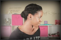 Two Strand Twist Updo - Natural Hairstyles