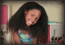 Natural Curly Hair Routine
