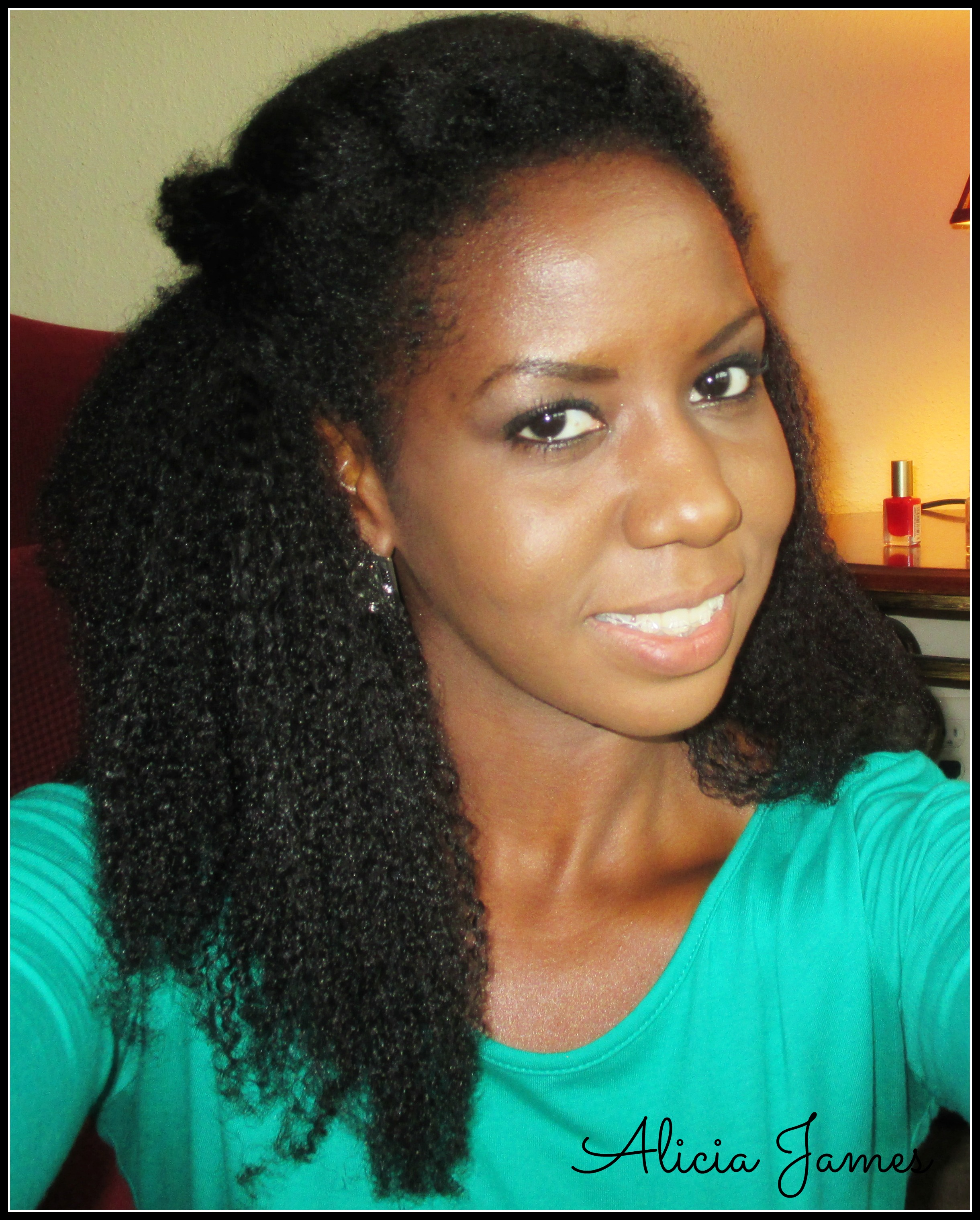 weave cap hairstyles : Wash And Go On 4a And 4b Natural Hair How To Take Care Of Natural ...