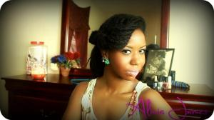 Vintage Inspired Hairstyle - Two Strand Twist Styles