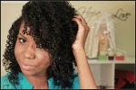 Natural Hair Styles Pictures - Straw curls on natural hair - two strand twist
