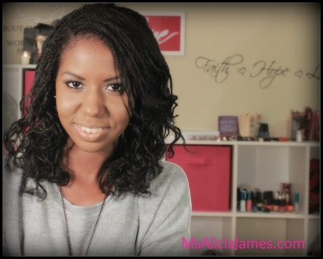 Bantu knot out on loose two strand twist - Alicia James - Natural Hairstyles Pictures