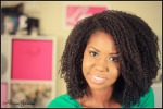 curly natuFaux Wash and Go Natural Hairral hair
