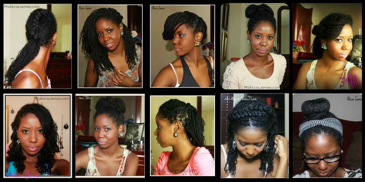 Two Strand Twist Styles - Natural Hair Styles