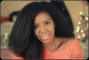 Natural Hair Blow Out - Photo / Pictures