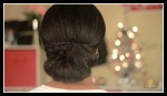 Updo with braids on Natural Hair - Special Occasion and Holiday Hair