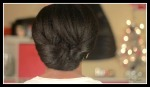 Elegant Tuck On Natural Hair - Special Occasion and Holiday Hair