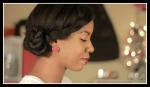 Twisted Updo On Natural Hair - Special Occasion and Holiday Hair