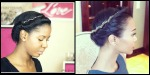 Zoe saldana inspired hairstyle - Natural Hair Pictures