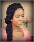 Senegalese twist - hairstyle
