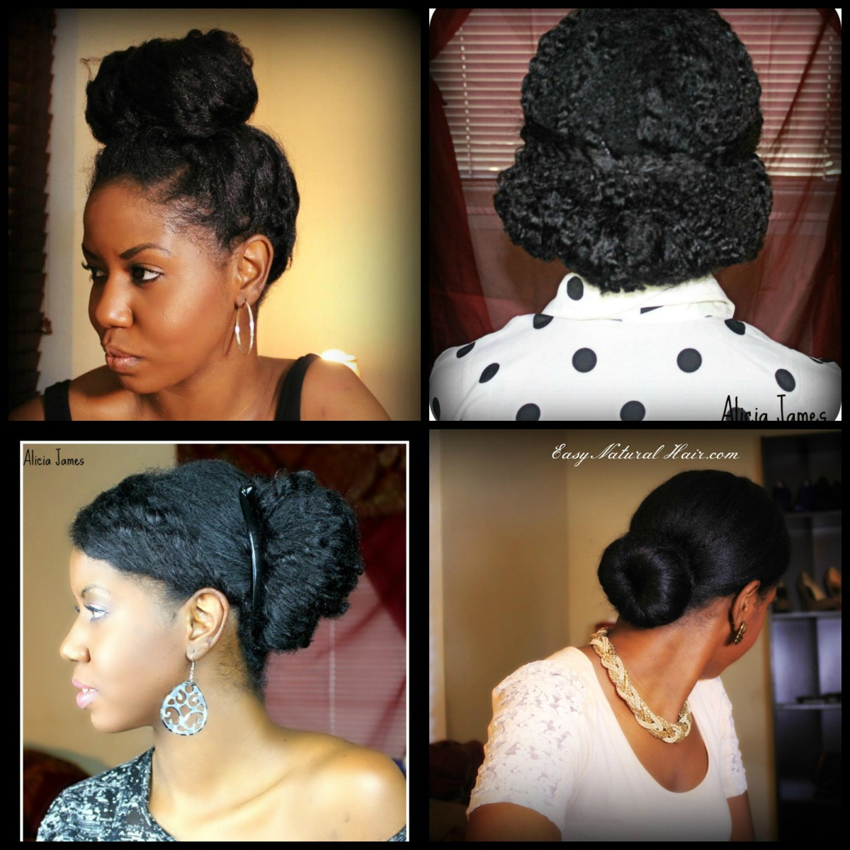 My Top 5 Tips For Bunning Natural Hair ❤ Protective Styling ❤